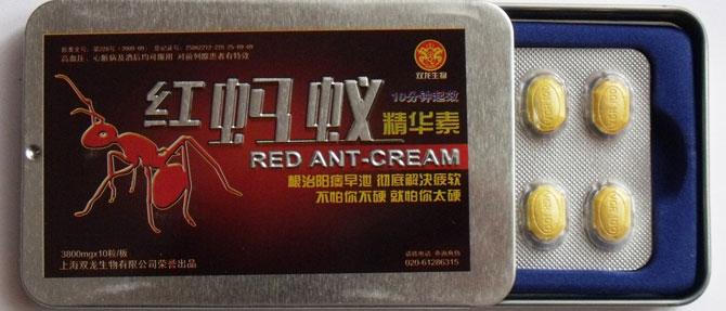 Красный муравей