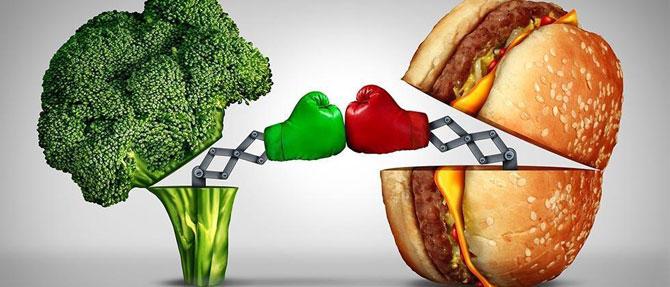 Сбалансированное питание мужчины