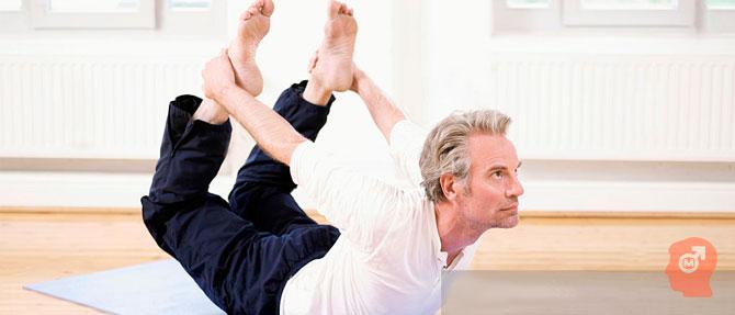 Йога для потенции мужчин: 5 лучших упражнений для мужского здоровья